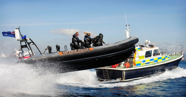 Boats of the Gibraltar Defence Police Marine Unit